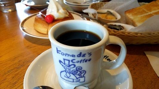 コメダ珈琲店 本店のブレンドコーヒー