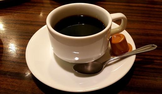 モーニング喫茶リヨン ホットコーヒー