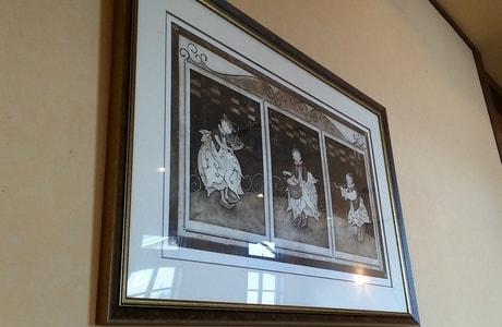 クラブハウス 壁掛けの絵