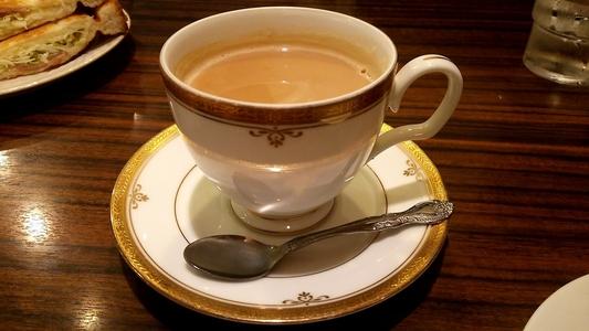 モーニング喫茶リヨン ホットカフェオレ