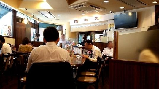 モーニング喫茶リヨン 店内の様子