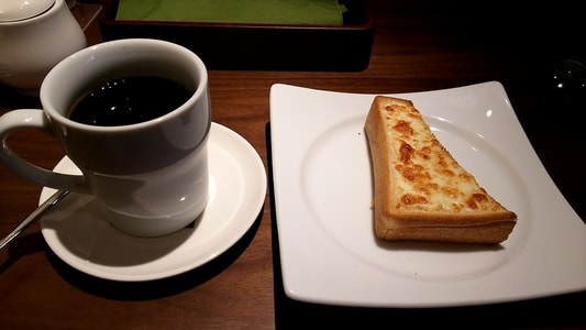 むさしの森珈琲 ブレンドコーヒーとチーズトースト