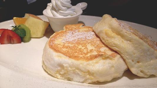むさしの森珈琲 フルーツMIXパンケーキ