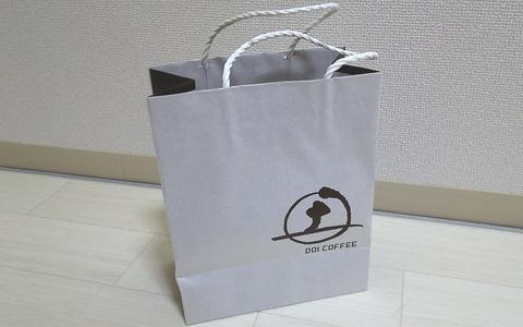 土居珈琲のショッピングバッグ