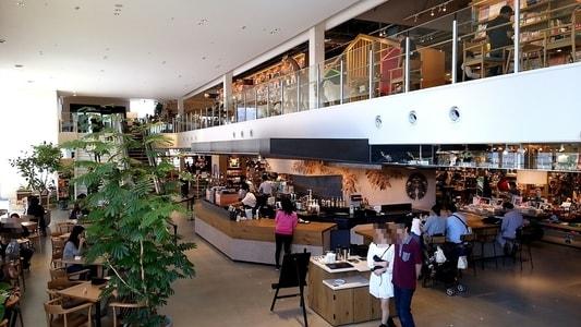 ららぽーと名古屋 蔦屋書店内 スターバックスコーヒー