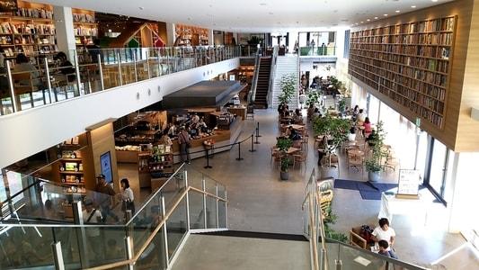ららぽーと名古屋 蔦屋書店内のスターバックスコーヒー