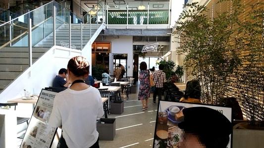 ららぽーと名古屋 蔦屋書店内 カフェ「adedge」