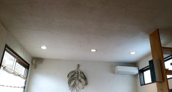 カーレ(carre')の店内 天井 壁