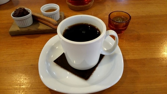 カーレ(carre')のホットコーヒー