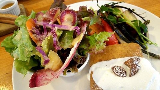 カーレ(carre')のモーニングプレート サラダ