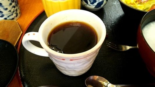 白壁カフェ花ごよみ コーヒー