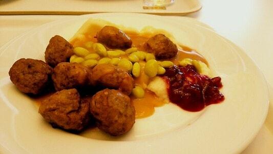 イケアレストラン スウェーデンミートボール499円