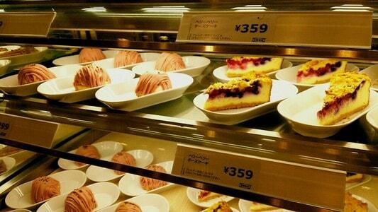 イケアレストラン ベリーベリーチーズケーキ359円