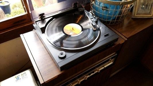 ハコテアコのBGM。レコード。