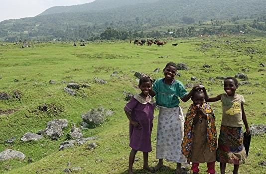 ケニアの農村