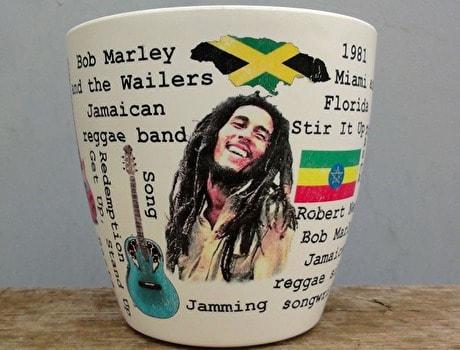 ジャマイカのコーヒーカップ