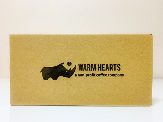 WARM HEARTSのマラウイコーヒーのパッケージ